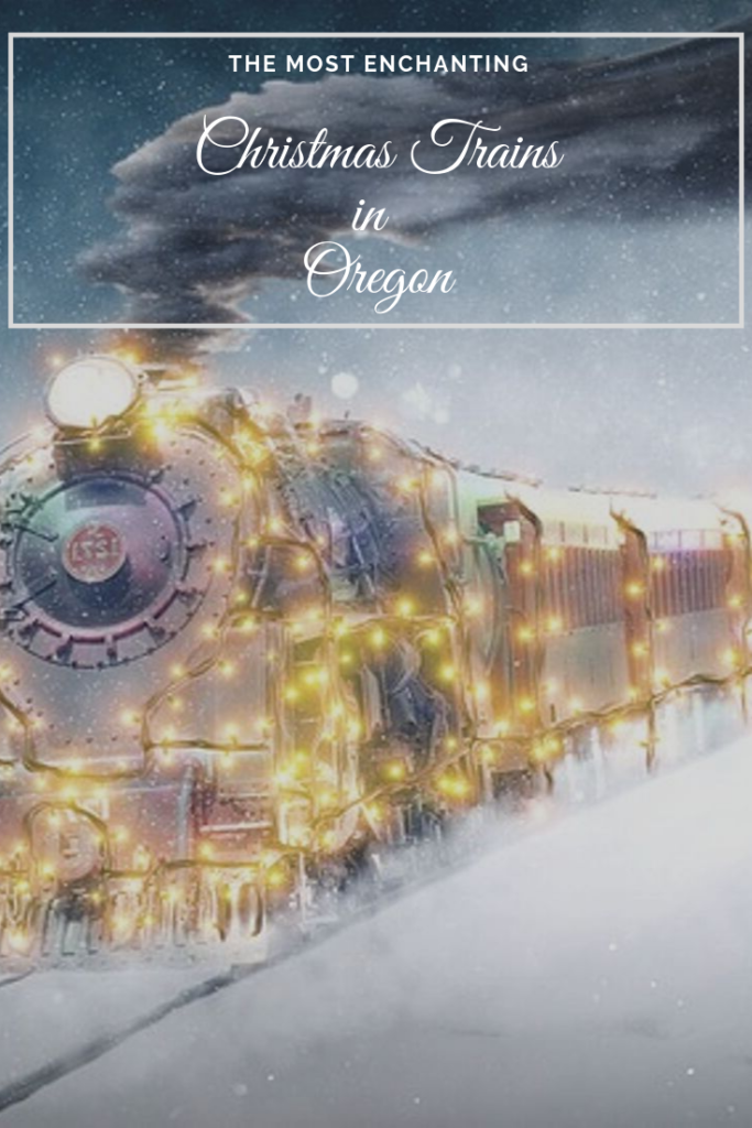 oregon christmas trains